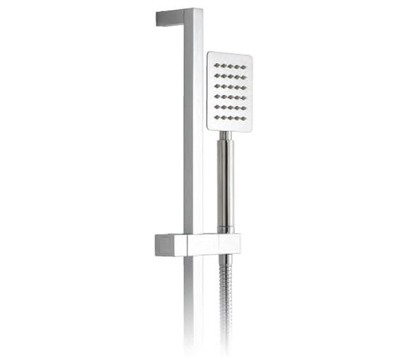 Vado Aquablade Square Slide Rail Shower Kit - AQB-SFSRK/SQ-C/P