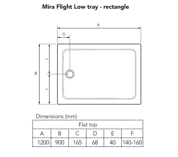 Technical drawing QS-V56840 / 1.1697.018.WH