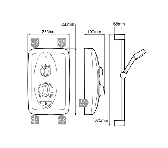 Technical drawing QS-V80063 / 1.1788.012
