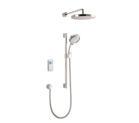 Mira Vision Rear Fed Dual High Pressure Digital Mixer Shower