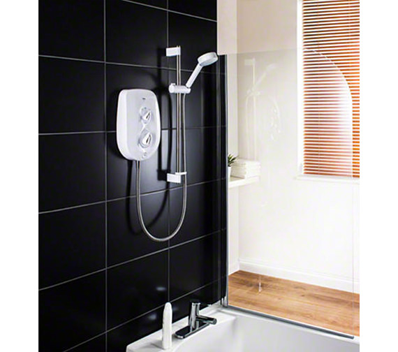 Mira Vie 8.5kW White And Chrome Electric Shower - 1.1788.004