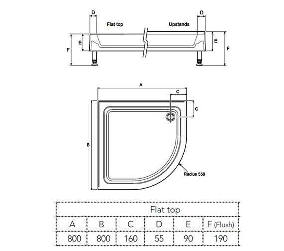 Technical drawing QS-V78735 / 1.1783.040.WH