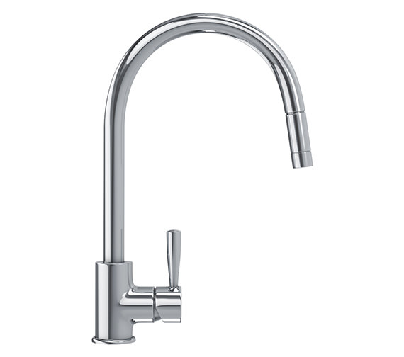 Franke Fuji Pull Out Nozzle Sink Mixer Tap Chrome 1150280225