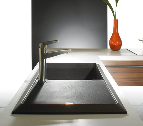 Additional image of Astracast Contour 1.0 Bowl Composite ROK TEX Inset Sink And Accessories