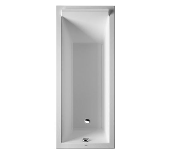 Duravit Starck 1700 x 700mm Rectangular Bath With Support Frame - 700345