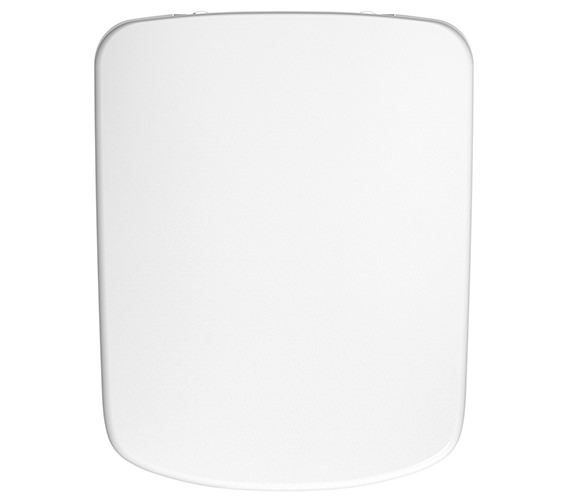 Twyford E100 Square Toilet Seat And Cover