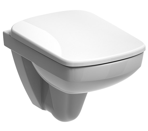 Twyford E200 Flushwise Compact Wall Hung WC Pan 480mm - E21700WH