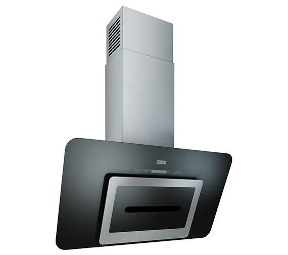 Franke Sinos 900mm FSN 908 BK A Stainless Steel And Glass Kitchen Hood