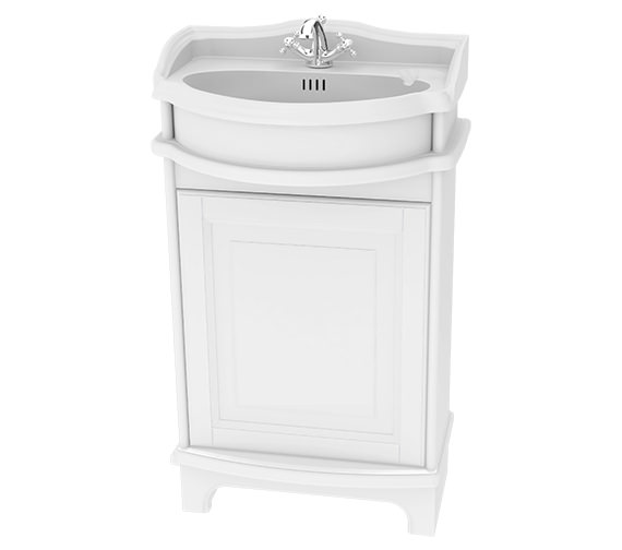 Miller Traditional 1903 Floor Standing 500mm Vanity Unit With Basin