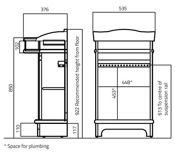 Technical drawing QS-V27820 / 384V-2