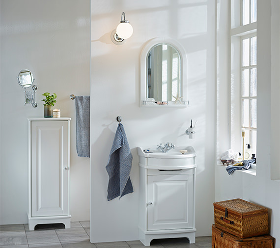 Additional image of Miller Traditional 1903 Floor Standing 500mm Vanity Unit With Basin
