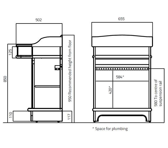 Technical drawing QS-V27829 / 386-2