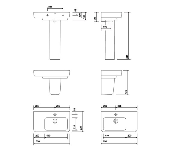 Technical drawing QS-V10238 / E24411WH