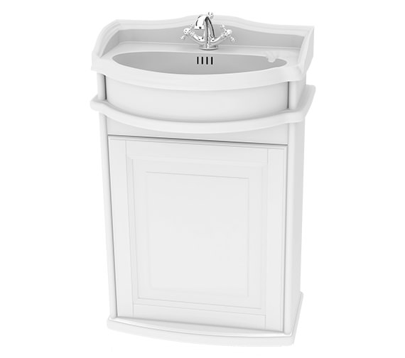 Miller Traditional 1903 - 50 Wall Hung Basin Vanity Unit With Door