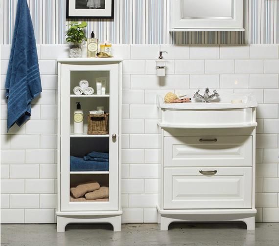 Miller Traditional 1903 Floor Standing 439 x 1155mm Display Cabinet