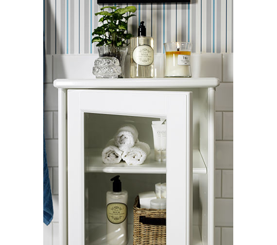 Additional image of Miller Traditional 1903 Floor Standing 439 x 1155mm Display Cabinet