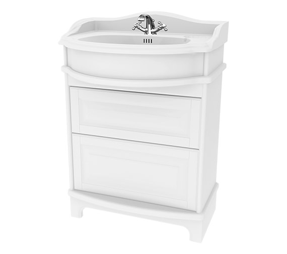 Miller Traditional 1903 - 65 Basin Vanity Unit With Drawers And Plinth