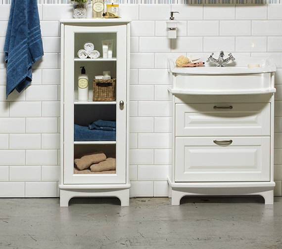 Additional image of Miller Traditional 1903 - 65 Basin Vanity Unit With Drawers And Plinth