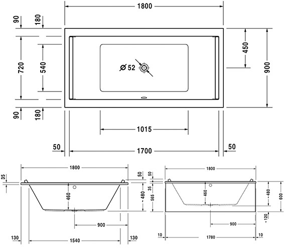 Technical drawing QS-V63288 / 760339000CE1000