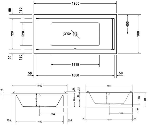 Technical drawing QS-V63293 / 760340000CL1000