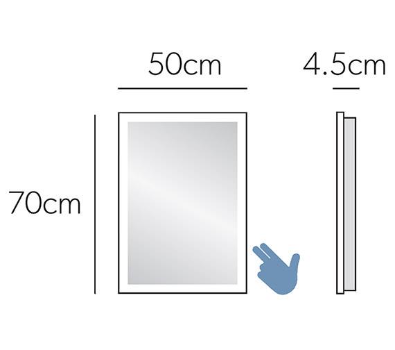 Technical drawing QS-V7040 / 78500000