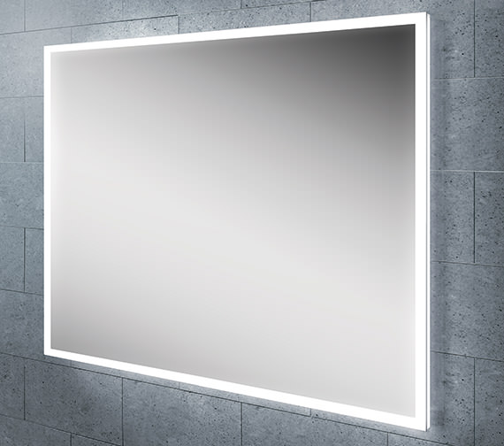 HIB Globe 60 Steam Free LED Mirror With Ambient Lighting 800 x 600mm