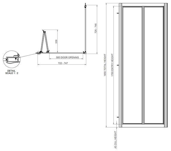 Technical drawing QS-V13352 / 1174011