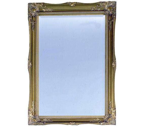 Heritage Balham Antique Gold Wooden Framed Mirror 660 x 910mm