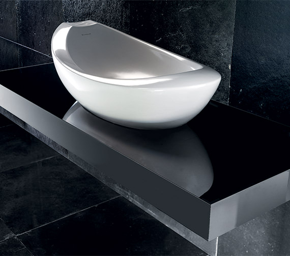 Silverdale Windsor 800mm Countertop Basin With Clicker Waste - SILWI680