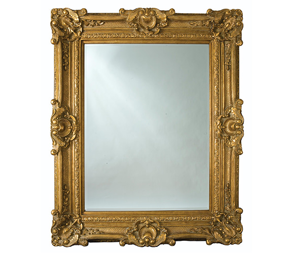Heritage Chesham Grand Amber Gold Polyurethane Framed Mirror 1420 x 2240mm
