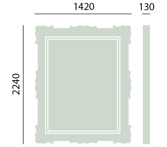 Technical drawing QS-V10372 / MCHAG02