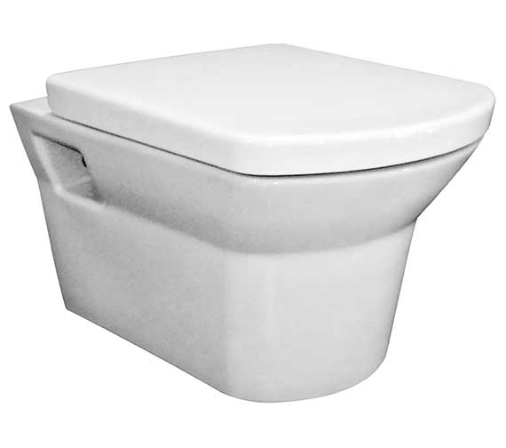 Nuie Premier Clara Wall Hung WC Pan 525mm And Seat
