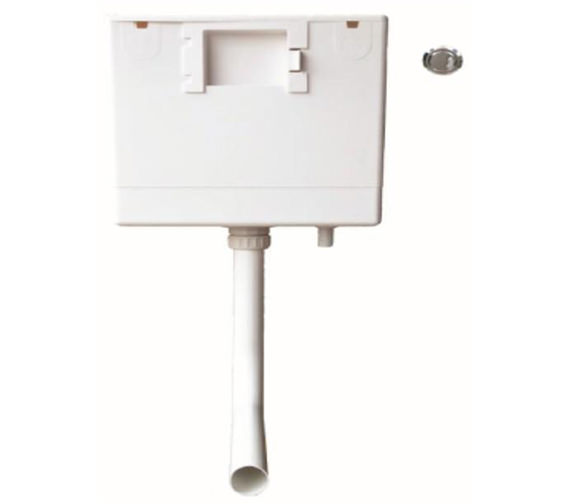 Heritage Caversham Concealed Dual Flush Cistern With Push Button
