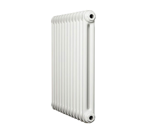 Apollo Roma White 2 Column Radiator 21 Section 1000 x 600mm - 2C6H1000