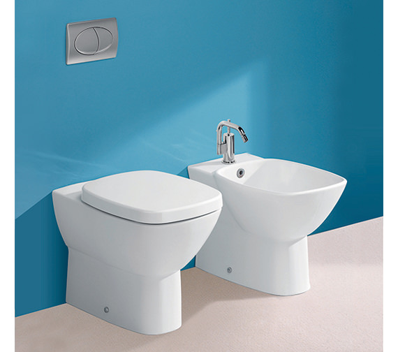 Silverdale Ascot Back To Wall WC Pan - SILAS102
