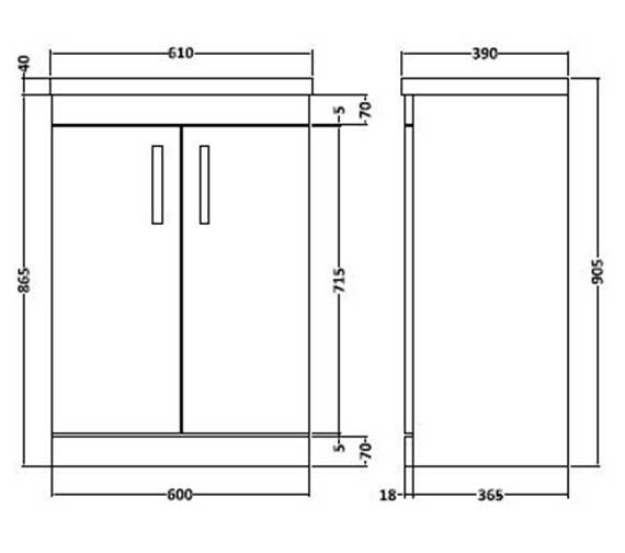 Technical drawing QS-V27409 / SH62DR