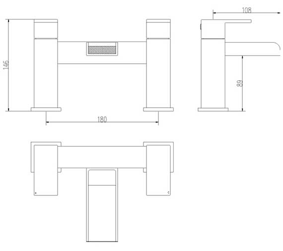 Technical drawing QS-V27950 / TWF303