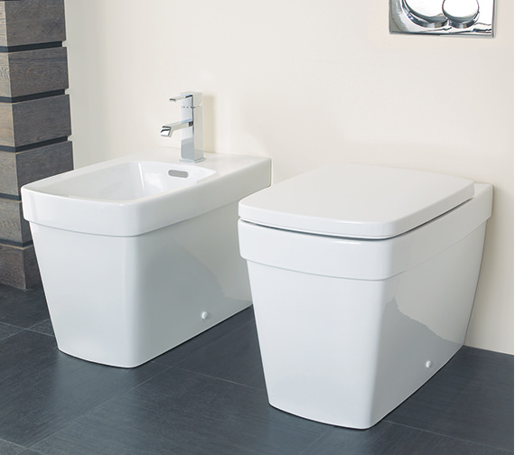 Silverdale Henley 1 Tap Hole Back To Wall Bidet - SILHE400