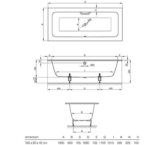 Technical drawing QS-V13361 / 3314 000
