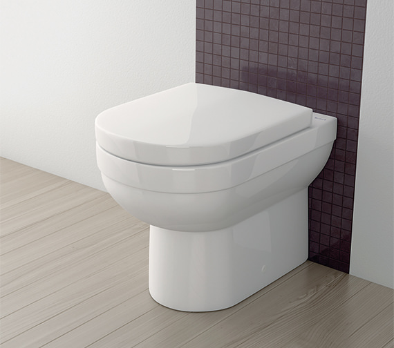 Silverdale Richmond Back To Wall WC Pan White