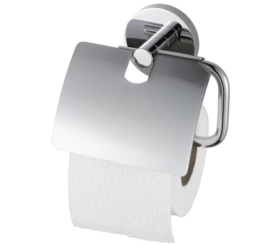 Aqualux Haceka Pro 2000 Toilet Roll Holder With Lid