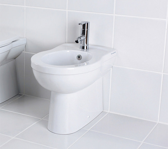 Silverdale Thames 1 Tap Hole Back To Wall Bidet