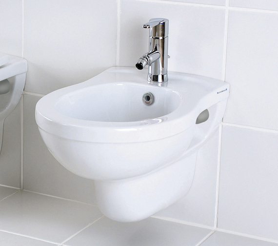 Silverdale Thames 1 Tap Hole Wall Mounted Bidet - SILTH401