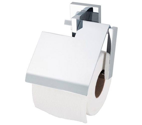 Aqualux Haceka Pro 5000 Toilet Roll Holder With Lid - 1170345