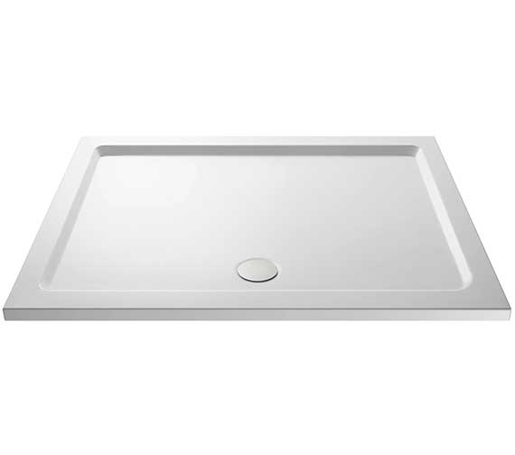 Lauren Pearlstone 1400 x 900mm Rectangular Shower Tray