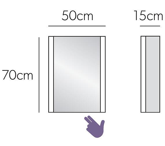 Technical drawing QS-V7049 / 45600