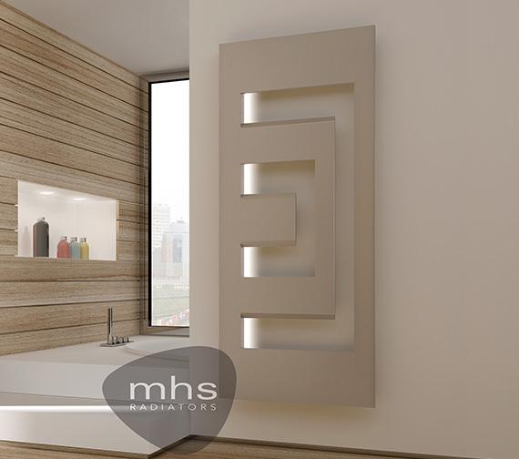 MHS Dello Designer Radiator 660 x 1600mm - DEL011160066