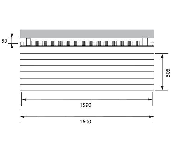 Technical drawing QS-V7143 / HH11-505-16