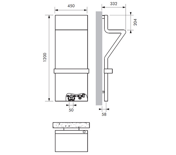 Technical drawing QS-V83028 / TRA011120045