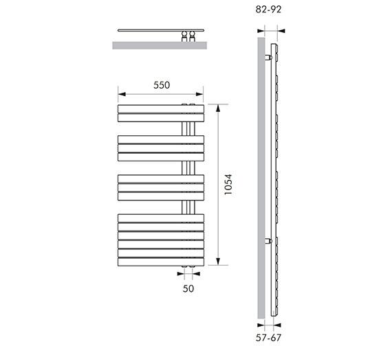 Technical drawing QS-V83060 / SOU015105055